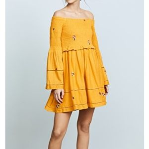 Free People Counting Daisies Dress